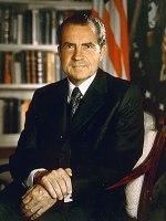 Richard Nixon, presidente de los EEUU entre 1969 y 1974